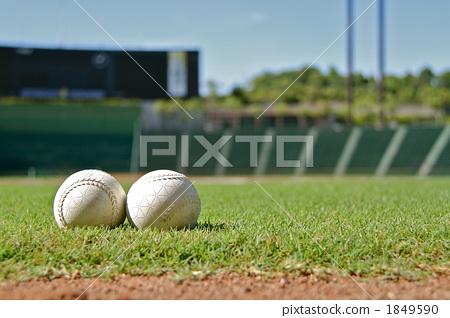 ballpark, baseball stadium, ball 1849590