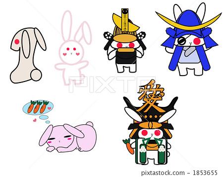兔子角色集合 1853655