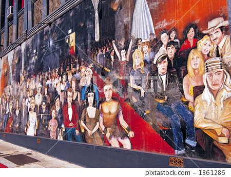 Murals in Hollywood 1861286