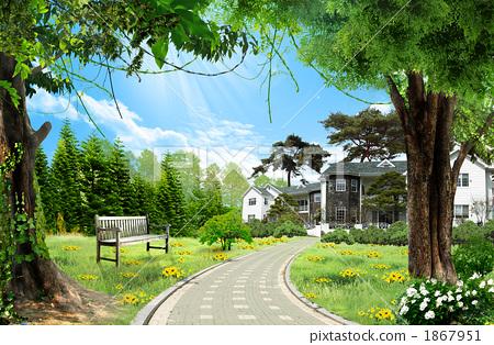 풍경과 주택 _k_624931 1867951