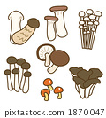 버섯 1870047