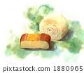 卷蛋糕和芝士蛋糕 1880965