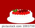 聖誕蛋糕(紅色) 1883798
