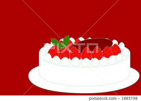 Christmas cake (red) 1883798