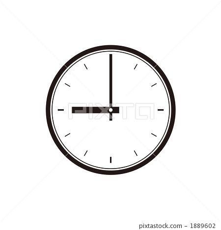 鐘面,9點鐘圖 1889602
