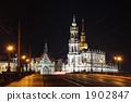 宮殿 德累斯頓 點燈 1902847