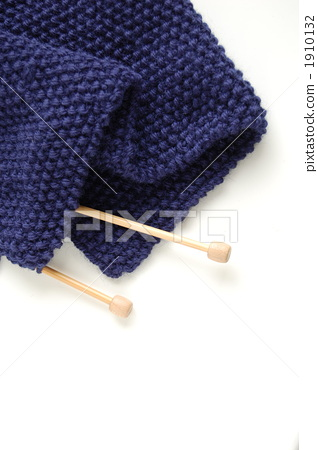 Hand Knitted Handicrafts Knitting Stock Photo 1910132 Pixta