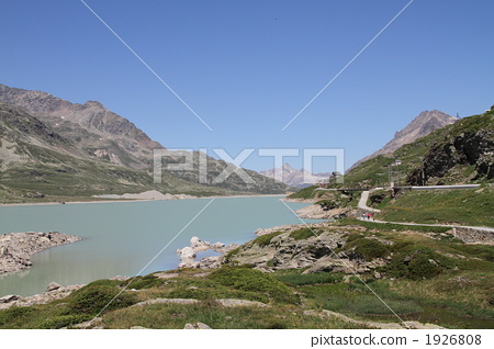 스위스라고 비앙코 (화이트 호수) 1926808