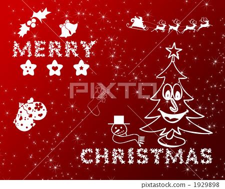 圣诞夜 白色圣诞节 圣诞树 1929898