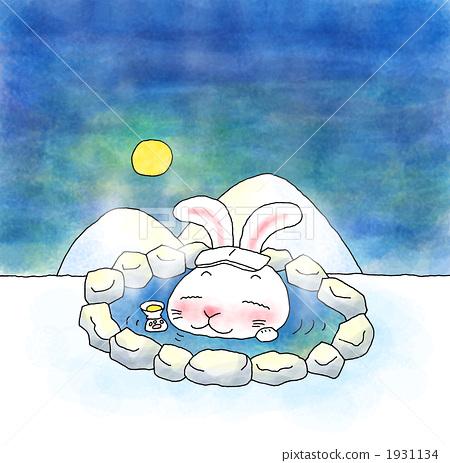 Outdoor bath rabbit 1931134