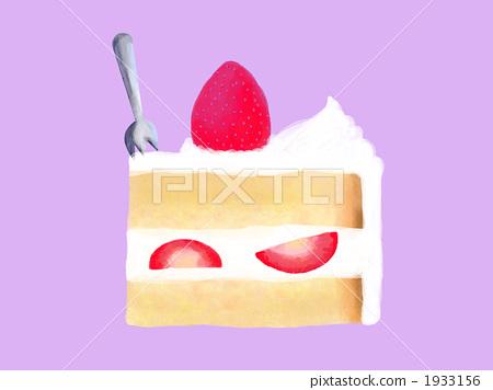 Strawberry short (fork) 1933156