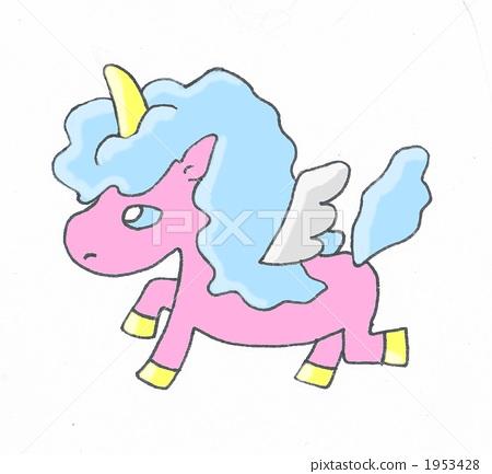 imagination of animal, pegasus, pony 1953428
