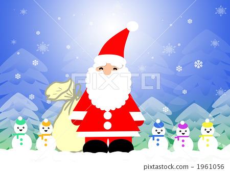 산타와 눈사람들 1961056