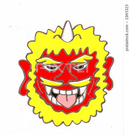 mask, demon, ogre 1965323