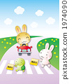 traffic safety rabbit 1974090
