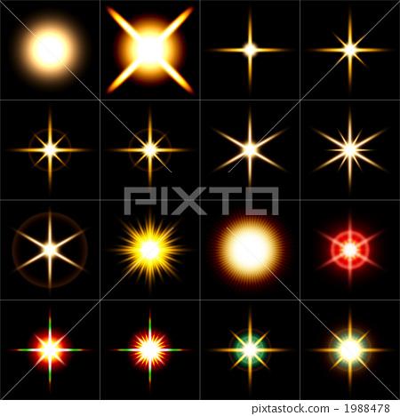 Star 16 patterns black back 1988478