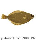 海鲜 海产品 右偏比目鱼 2006397