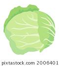 含貝塔胡蘿蔔素不高的蔬菜 矢量 蔬菜 2006401