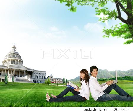 학생 커플 _k_509157 2023419
