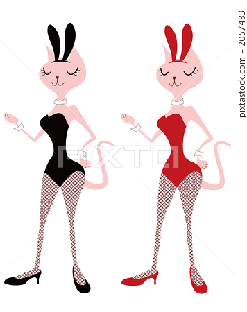 Cats and bunny girls 2057483