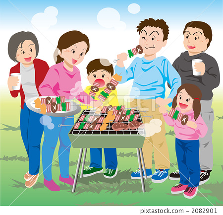 Fun with the family BBQ 2082901