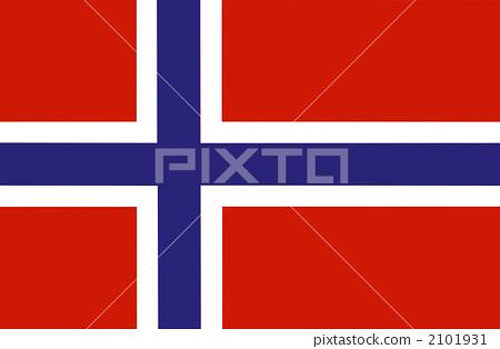 Norwegian flag 2101931