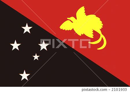 Papua New Guinea flag 2101933