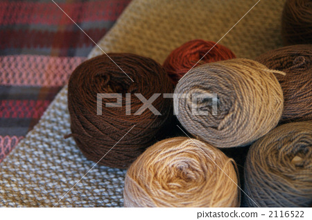 handicraft material, warm color, woven stuff 2116522
