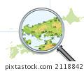 일본의 지방지도 2118842