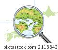Regional Map of Japan 2118843
