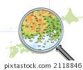 일본의 지방지도 2118846