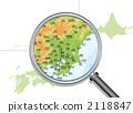 일본의 지방지도 2118847
