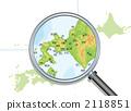 일본의 지방지도 2118851
