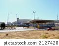 耶路撒冷附近的检查站隔离墙 2127428