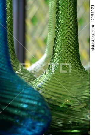 glasswork, vase for one flower, vase 2135071
