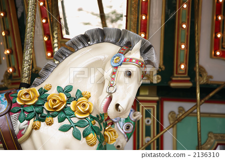 Rotating horse's face up 2136310