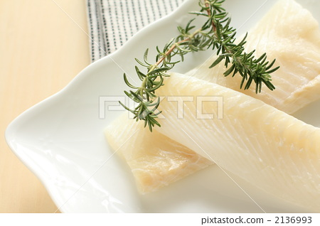 Trocare and white rosemary of white fish 2136993