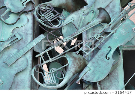 Musical instrument of monument 2164417