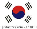 韩国国旗 2171813