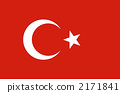 Republic of Turkey, national flag, national flags 2171841
