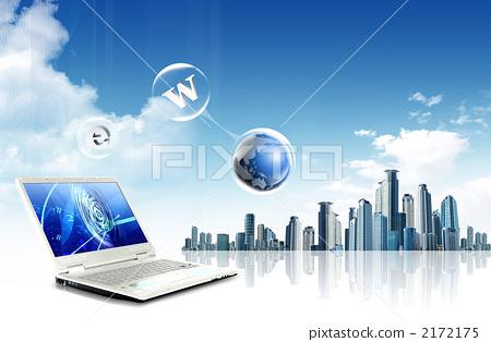 노트북과 도시 _yc_954434 2172175