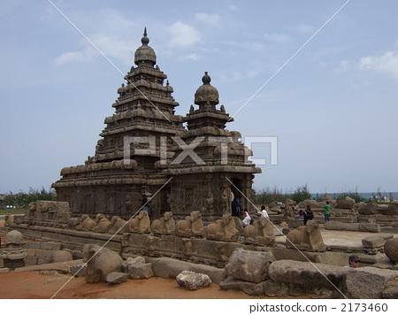 Coastal temple of Mahabalipuram 2173460