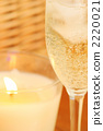 Candle wine glass 2220021
