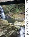 红眼Shiratakiraki Fudo瀑布 2223899
