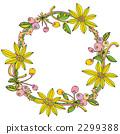 花卉装饰 框架 帧 2299388
