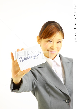 Thank you business woman 2310170
