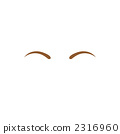 Illustration of eyebrows 2316960