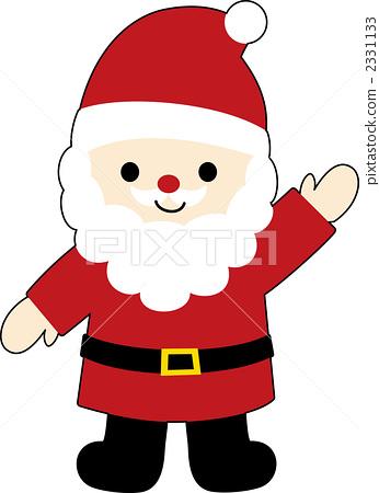 圣诞老人例证2 2331133