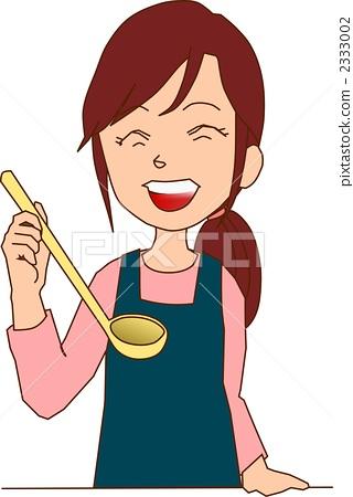 여성 요리 중 2333002