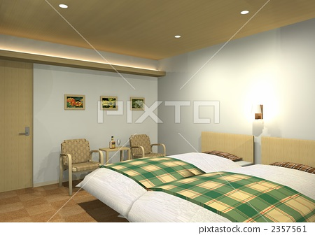 Natural and casual bedroom 2357561